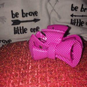 Hair Clip Hair-bow Pink Bow